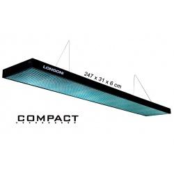 Lampa bilardowa Compact 247x31x6 cm