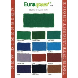 Sukno bilardowe - Eurospeed - różne kolory