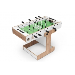 Stół do piłkarzyków Kar&Eli - Vertigo White - składany