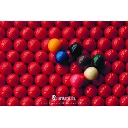 "Plakat ""Aramith Snooker"" 75x100cm"