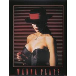 "Plakat ""Wanna Play"" 60x76cm"