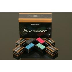.Ekskluzywna kreda bilardowa Europool op.2szt - różne kolory