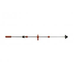 Prowadnice pojedyńcze Roberto Sport - teleskopowe (nowy typ) - czerwony bramkarz - 1