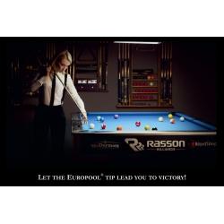 "Plakat 30- ""Europool & Ewa Bąk Lead To Victory"" 99x68cm"