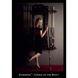 "Plakat 31- ""Europool & Ewa Bąk Choice of the best"" 99x68cm"