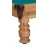 Stół bilardowy Kanclerz II 9ft - noga toczona