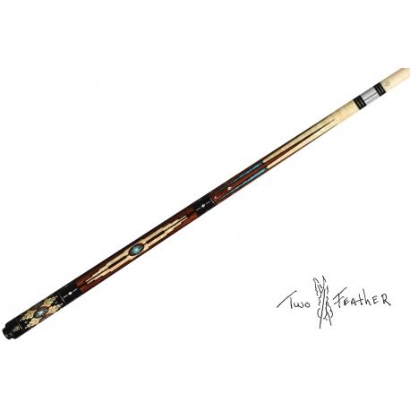 Kij bilardowy II cz McDermott TF-M1B - Two Feather Masterpiece