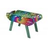 Piłkarzyki Bonzini B90 - Classic - wzór - kolorowa grafika - Flower / Woodstock