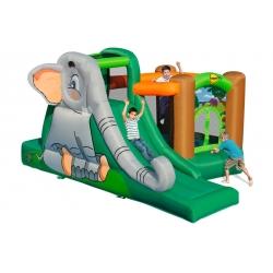 Dmuchany plac zabaw - Jaskinia słonia