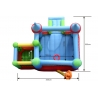 Dmuchane Zamek - Happy Hop - z basenem na piłeczki - wymiary