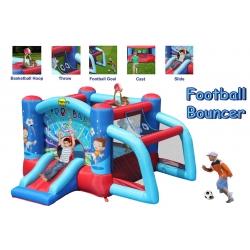 Dmuchany plac zabaw - Futbolowy Zamek -Happy Hop