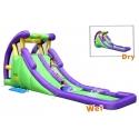 Dmuchana podwójna zjeżdżalnia wodna Happy Hop - Double The Fun