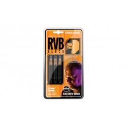 Rzutki Target RVB - Black (soft tip)