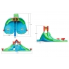Dmuchany Mega Park Wodny HappyHop Splash - wymiary