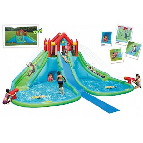 Dmuchany Mega Park Wodny HappyHop Splash
