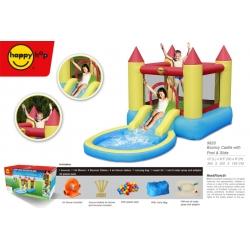 Dmuchany zamek z basenem - HappyHop