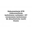Dokumentacja DTR i OT