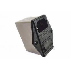 Filtr przeciwzakłóceniowy z wyłącznikiem