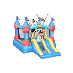 Dmuchany zamek Happy Hop z podwójną zjeżdżalnią