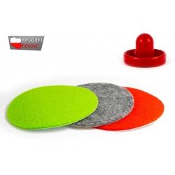Filc samoprzylepny do odbijaków air hockey - średnica 93mm