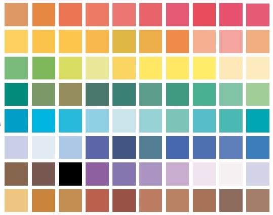 wzór - kolorowa grafika